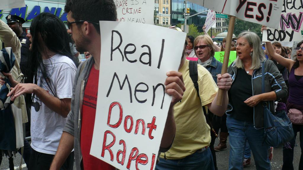 Om (ekte) menn og voldtekt